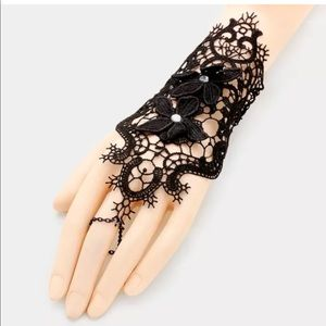 Jewelry - Dainty Filigree Gothic Lace Hand Body Jewelry